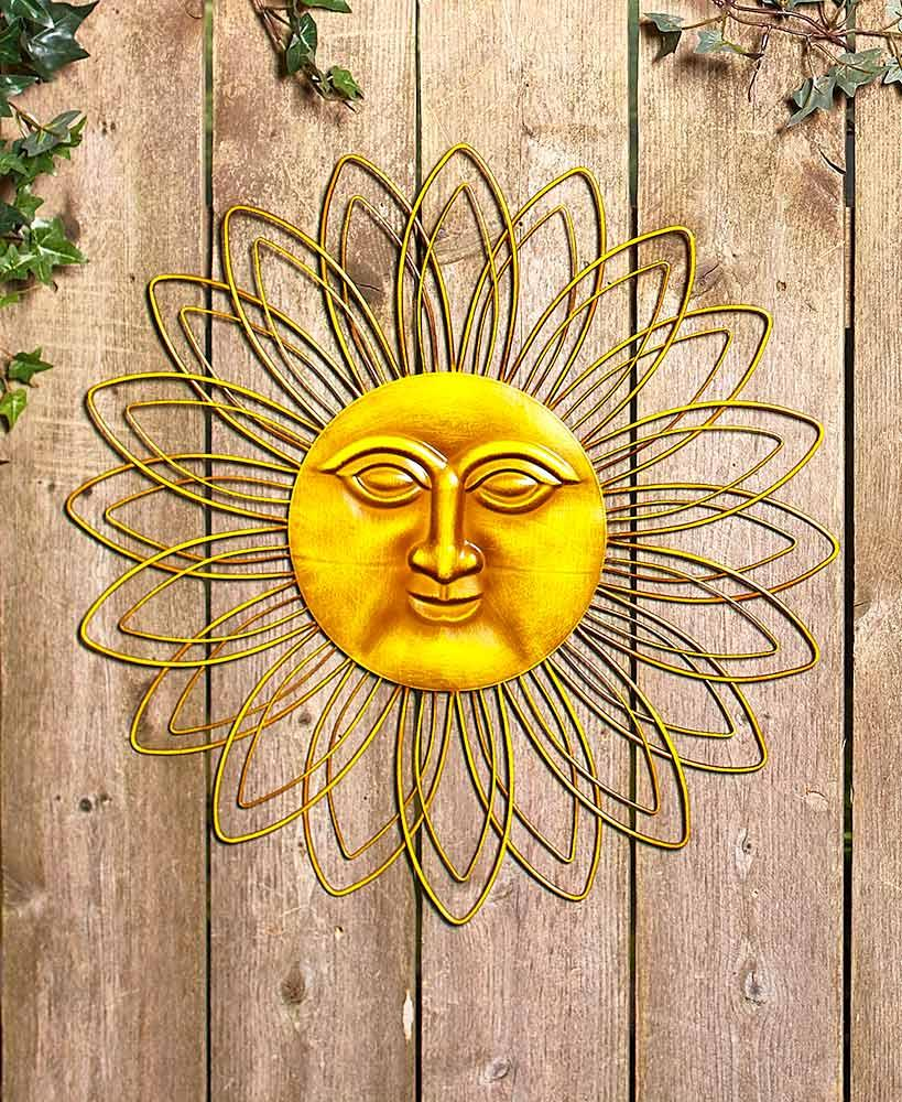Awesome Sun Face Wall Art Contemporary - The Wall Art Decorations ...