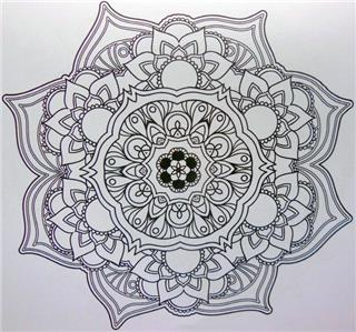 Adult Colouring Book Mysterious Garden For Relaxation Great Christmas Gift Idea