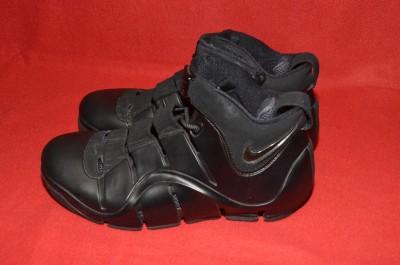 Nike Zoom Lebron James 4 IV Mens Basketball Shoes Black LJ 23 Size 9 5