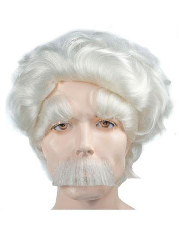 Albert Einstein Wig Eyebrows Mustache Set - 2 qualities | eBay