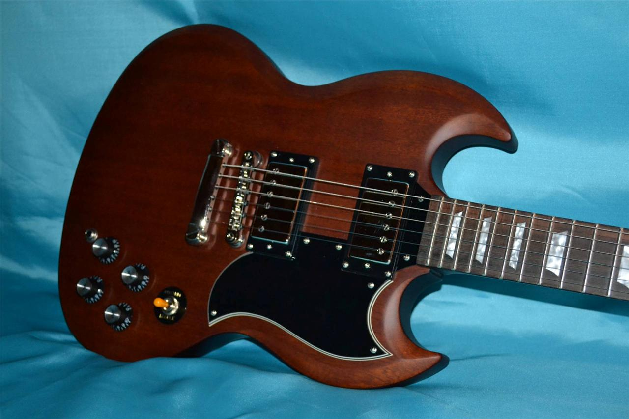 EPIPHONE SG G-400, WORN BROWN FINISH, Int'l Buyers Welcome