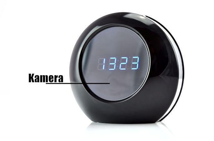 neu spycam wecker mit bewegungsmelder fernbedienung spion. Black Bedroom Furniture Sets. Home Design Ideas