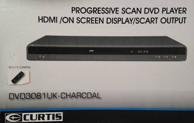 curtis new dvd hd silver grey charcoal player dvd3081 uk titanium hdmi scart a75 ebay. Black Bedroom Furniture Sets. Home Design Ideas