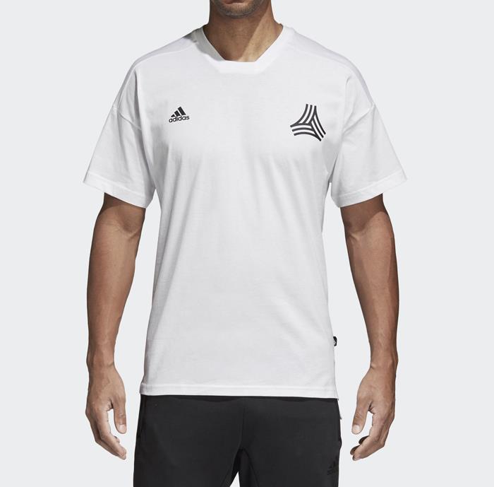 a5430b492d AJ8828 adidas Tan Symbol Men's Soccer Tee T-Shirt White/Black size ...