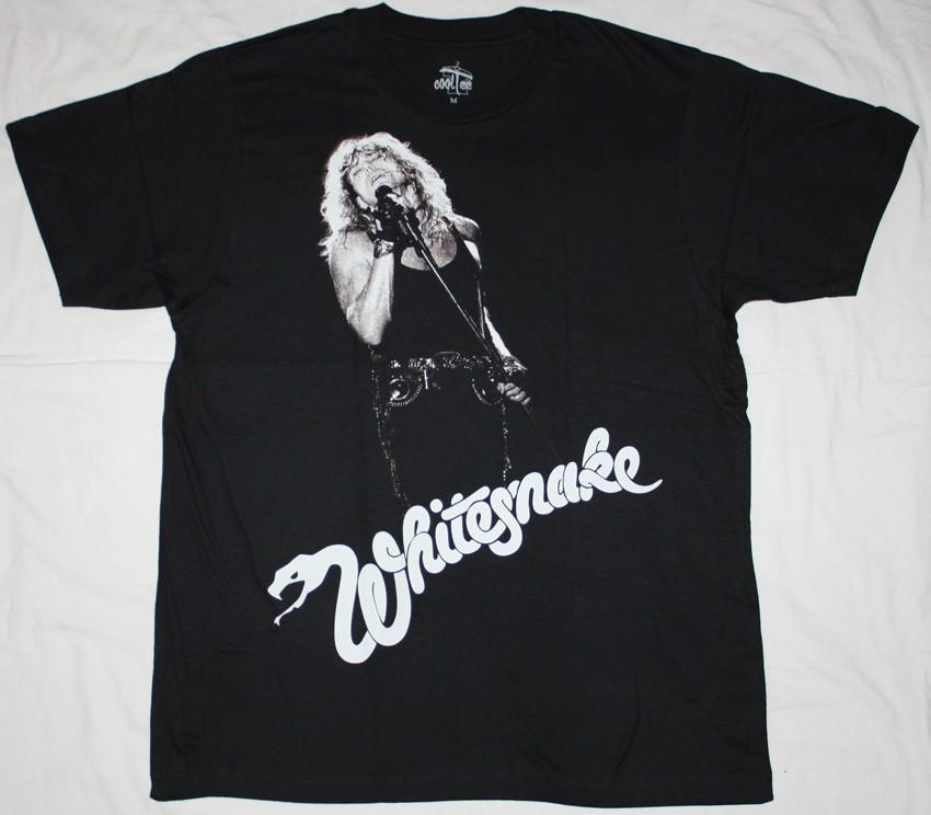 Whitesnake David Coverdale Hard Rock Band Deep Purple Dio New Black T Shirt