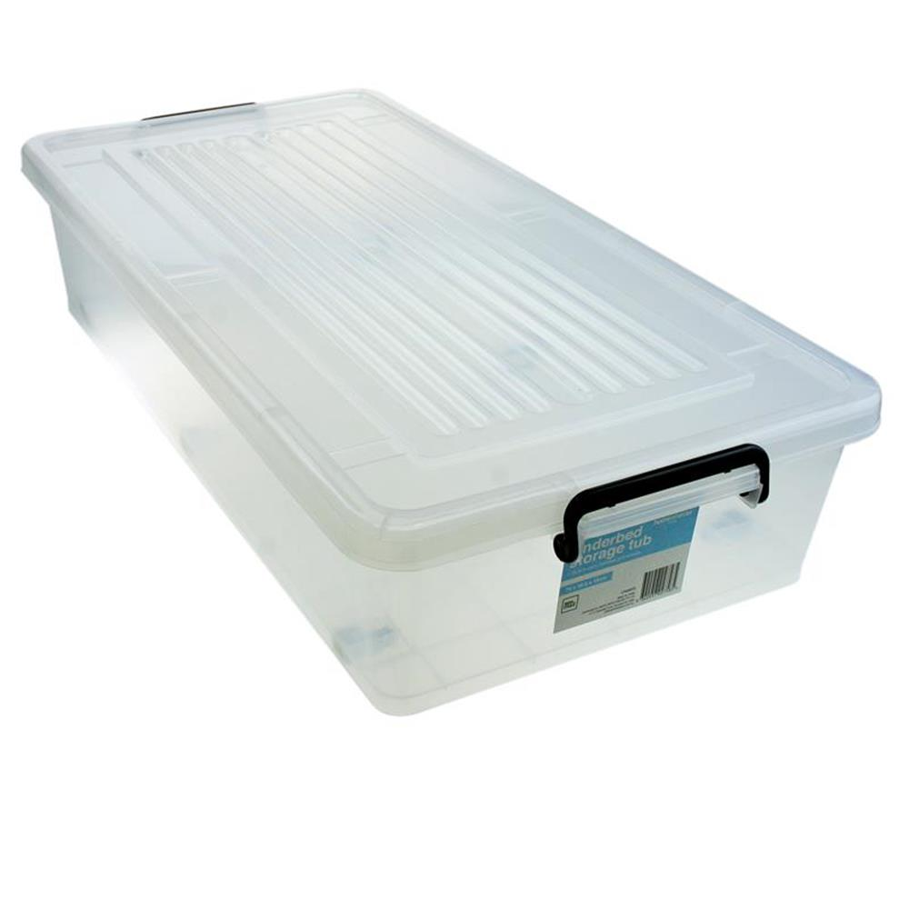 10 X 35l Under Bed Storage Drawers With Wheels Amp Lid