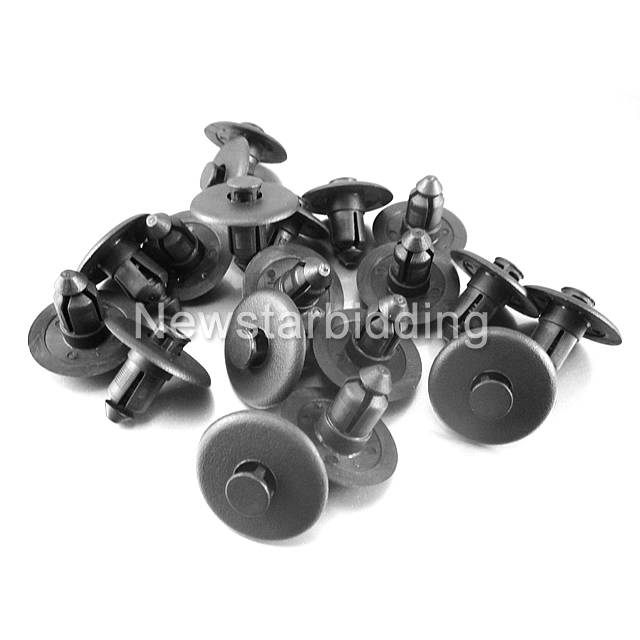 20x OEM Lincoln LS Cowl Push Type Retainer Nylon Clip Ford Fastener W705956-S300