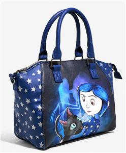 Loungefly Coraline Black Cat Celestial Star Night Satchel Shoulder Handbag 2019 Ebay