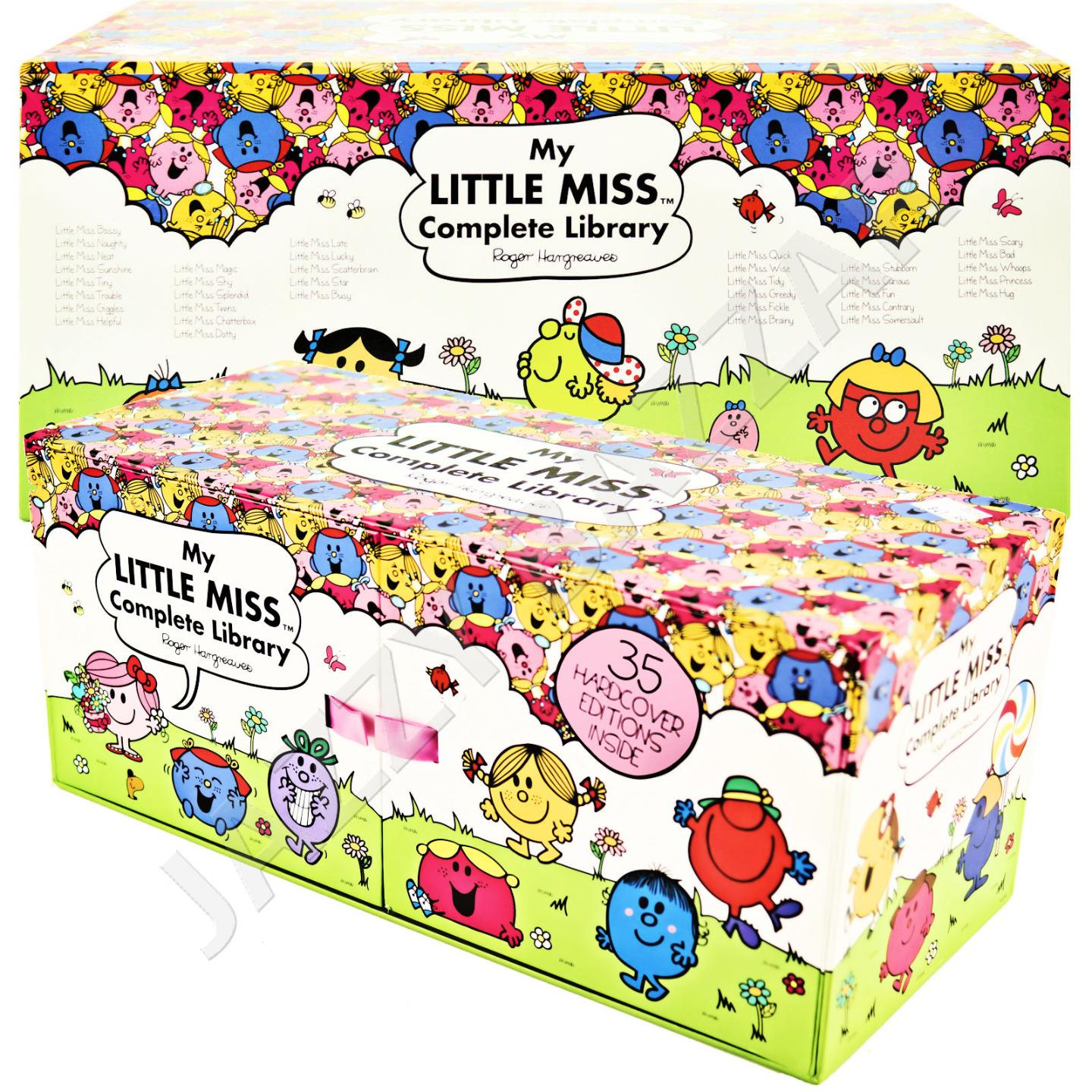 My Little Miss Complete Library Complete Box Set 35 Books Collection Hard Cover Ebay