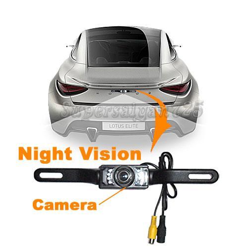 "7"" TFT LCD Color Car Monitor Car Rear View Camera System"