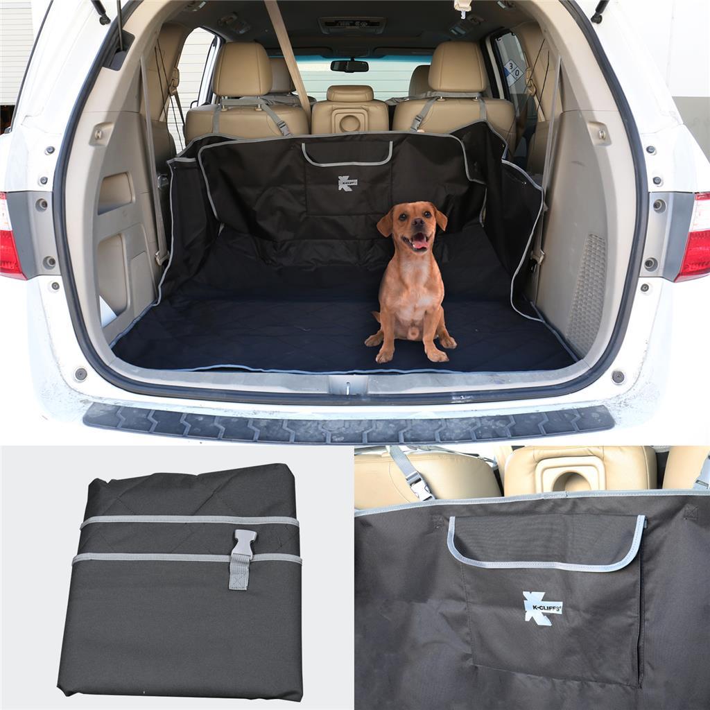 Waterproof Pet Dog Cat Quilted Trunk Cover Van Suv Cargo