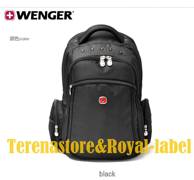 New Original Wenger Swiss Army Knife Backpack Laptop