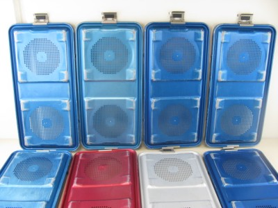 Aesculap Lid Top Sterilization Various Tray Case Container