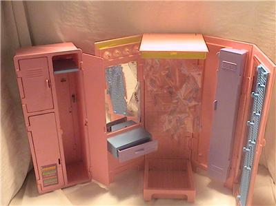 Barbie Monster High Teacher Classroom Desk Chair Lockers