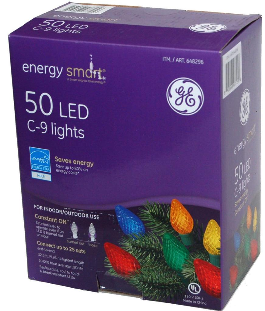 Ge Energy Smart 100 Led Mini Warm White Holiday Indoor