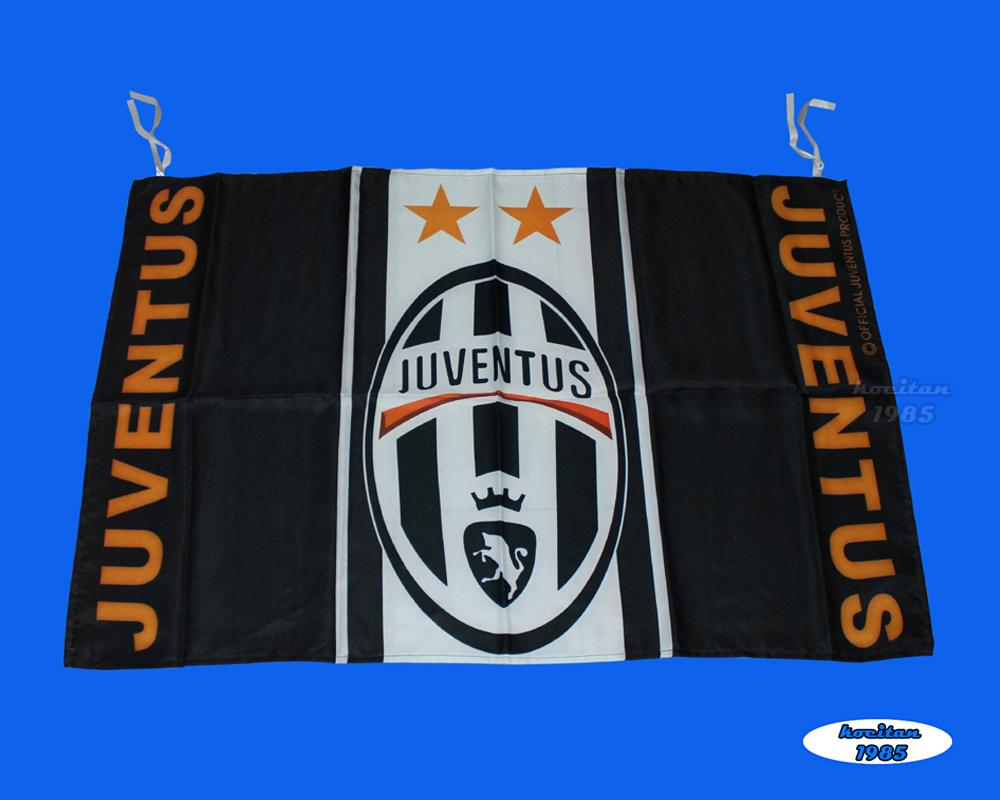 Juventus Football Club: Soccer Juventus Football Club Logo 65x95cm Flag Banner