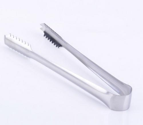 Stainless Steel ICE Cube Cake Tongs Kitchen Barware Small ...