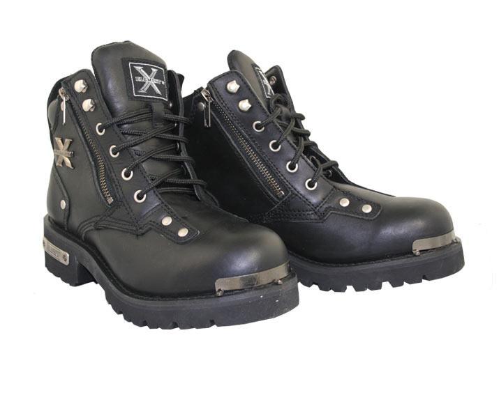 байкерские сапоги, обувь для байкеров и мотоциклистов.