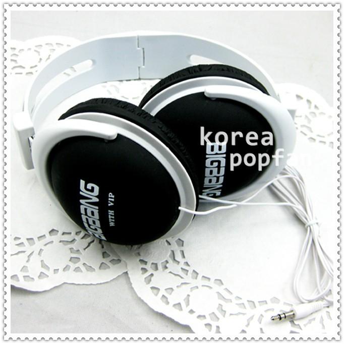 BIGBANG big bang with VIP KPOP BLACK EARPHONES HEADPHONES NEW