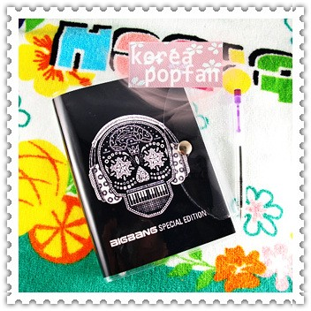 BIGBANG big bang KPOP BLACK Notebook & Badge SET NEW