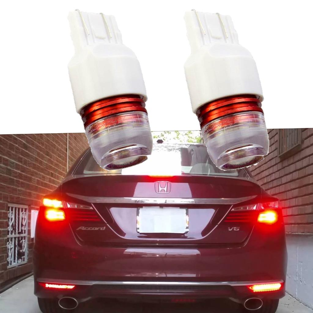 Flashing Strobe Red Brake Tail LED Lights for 2011-2017 Honda Accord