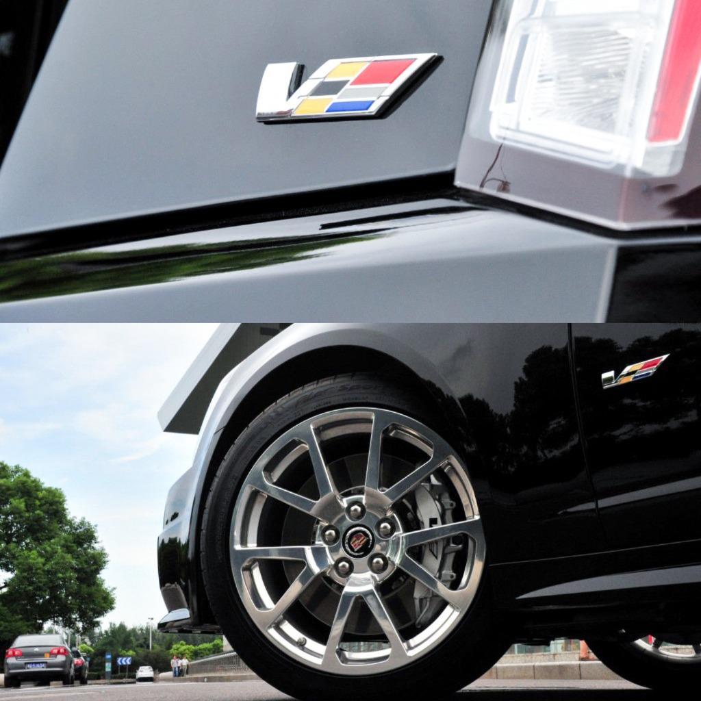 NEW Cadillac CTS SRX STS V Emblem 3D Metal Rear Trunk