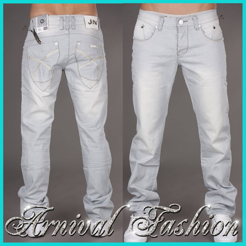 Bleached Jeans. Decide on the right wash and pattern for your bleached jeans to find the look you love. Whether drawn to the big tie-dye pattern or the side-seam painted look, you can find the jeans for your wardrobe.. Mix patterns and neutral tones together with these jeans for a blended look.