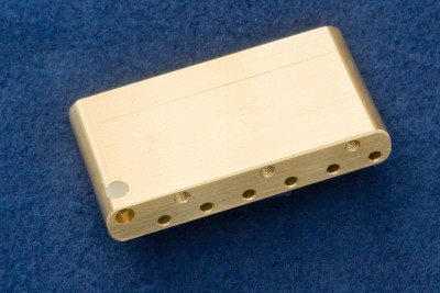 MADE In MEXICO STRAT MIM Brass Tremolo Block Highest Quality