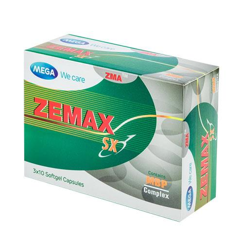 Details about 30 Caps Zemax SX For Men increase sexual male hormone vitamin  Supplement