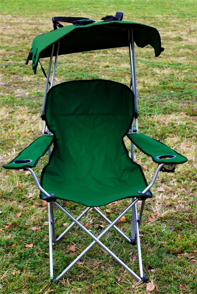 2 X Folding Canopy Chair Beach Camping Chair Xl