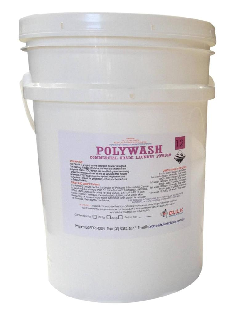 Poly Wash Commercial Grade Heavy Duty Laundry Powder