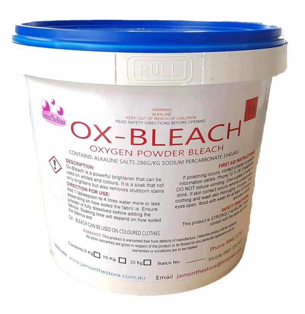 Ox Bleach Oxygen Bleach Sodium Percarbonate Hydrogen