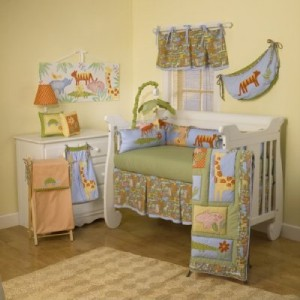 Cotton Tale Tiger Tale Baby boy / girl Crib bedding Set 4pc