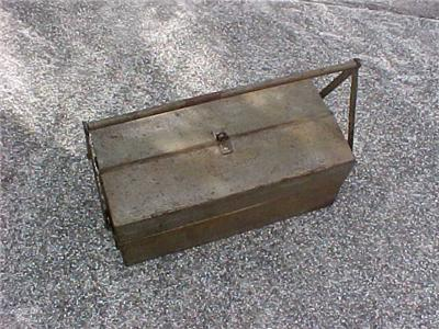 Snap On Snap On Vintage Cantilever Tool Box 1930s