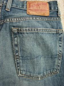 LUCKY BRAND Transit Jean Classic Straight Leg Mens Denim size 32