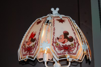 new collectible mickey minnie mouse touch lamp ebay. Black Bedroom Furniture Sets. Home Design Ideas