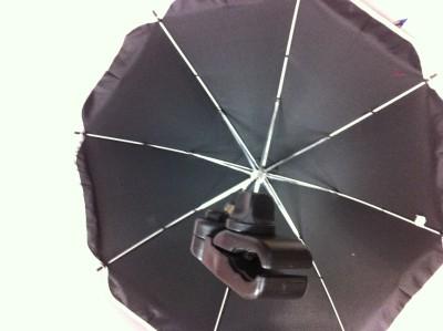 New Black Umbrella Stroller Beach Chair Studio Multi Position Locking Mechanism