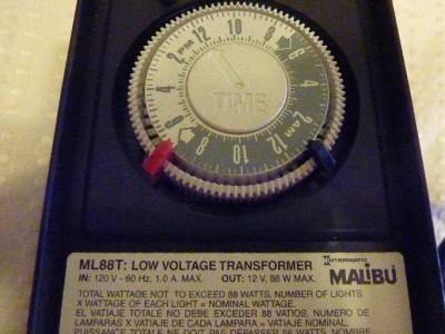 Malibu Ml88t Intermatic Low Voltage Landscape Lighting
