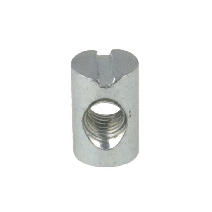 Barrel Nut Bolt Cross Dowel Pack of 50 Flat Pack Zinc M6 x 20mm Slotted