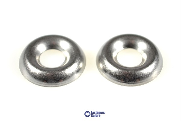 10G Stainless Steel Finishing CUP Washer QTY 100 Suit 10 ...