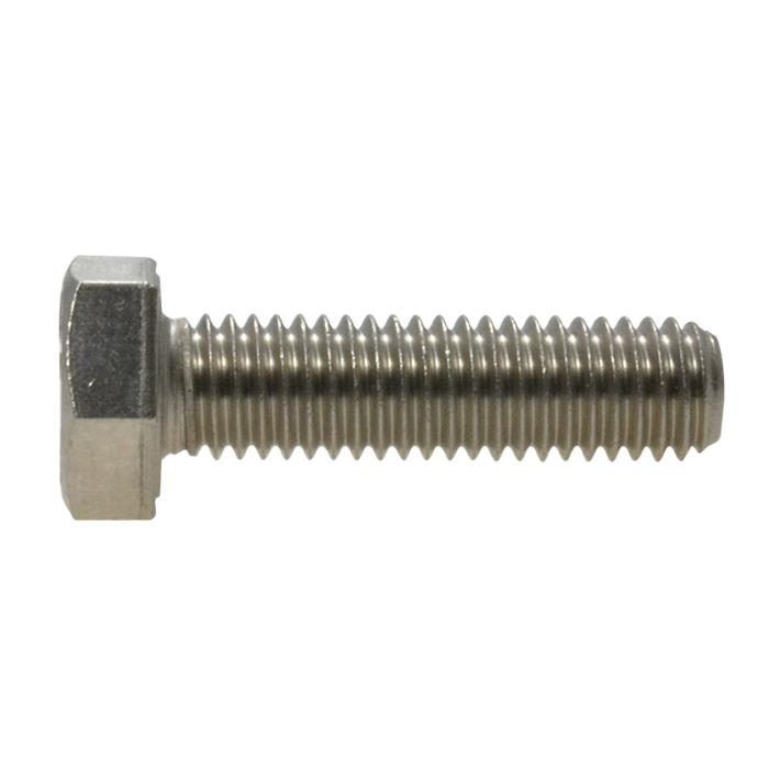 10mm Qty 10 Hex Set Screw M10 x 80mm Marine Stainless Steel SS 316 A4 70 Bolt