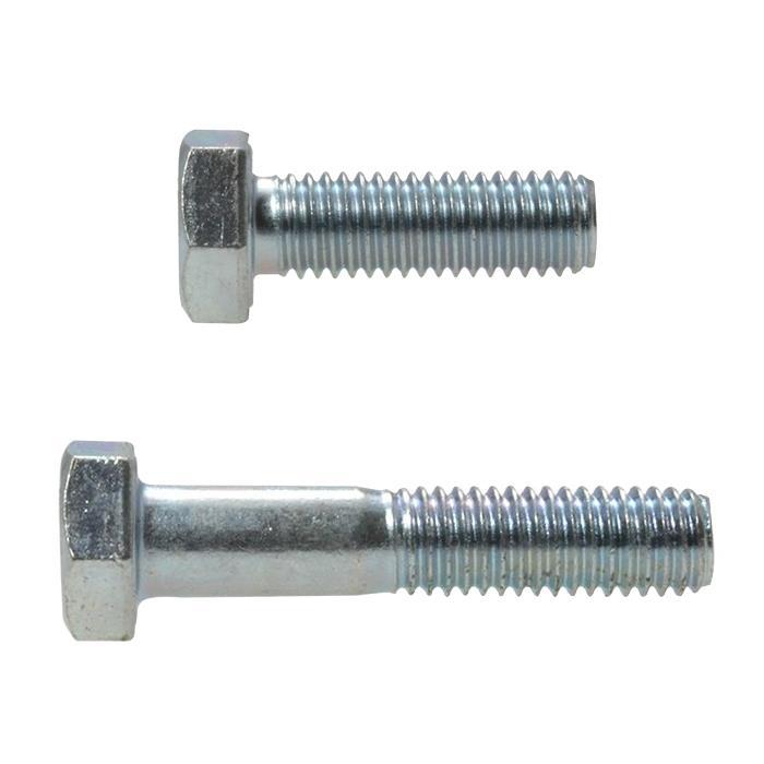 x 40mm Zinc Plated High Tensile Class 8.8 Bolt 12mm Qty 10 Hex Set Screw M12