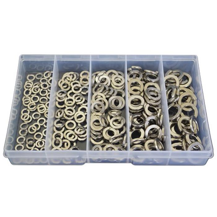 225 ASSORTED PIECE A2 STAINLESS STEEL PENNY REPAIR WASHERS M4 M5 M6 M8 M10 KIT