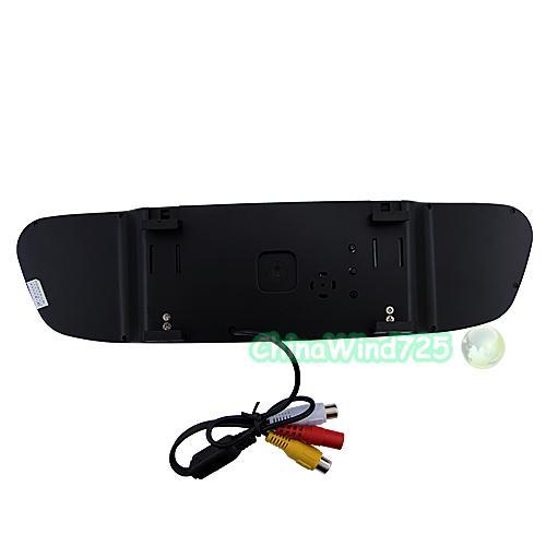 """4 3"""" LCD Car Rear View Monitor Car Backup Camera System"""