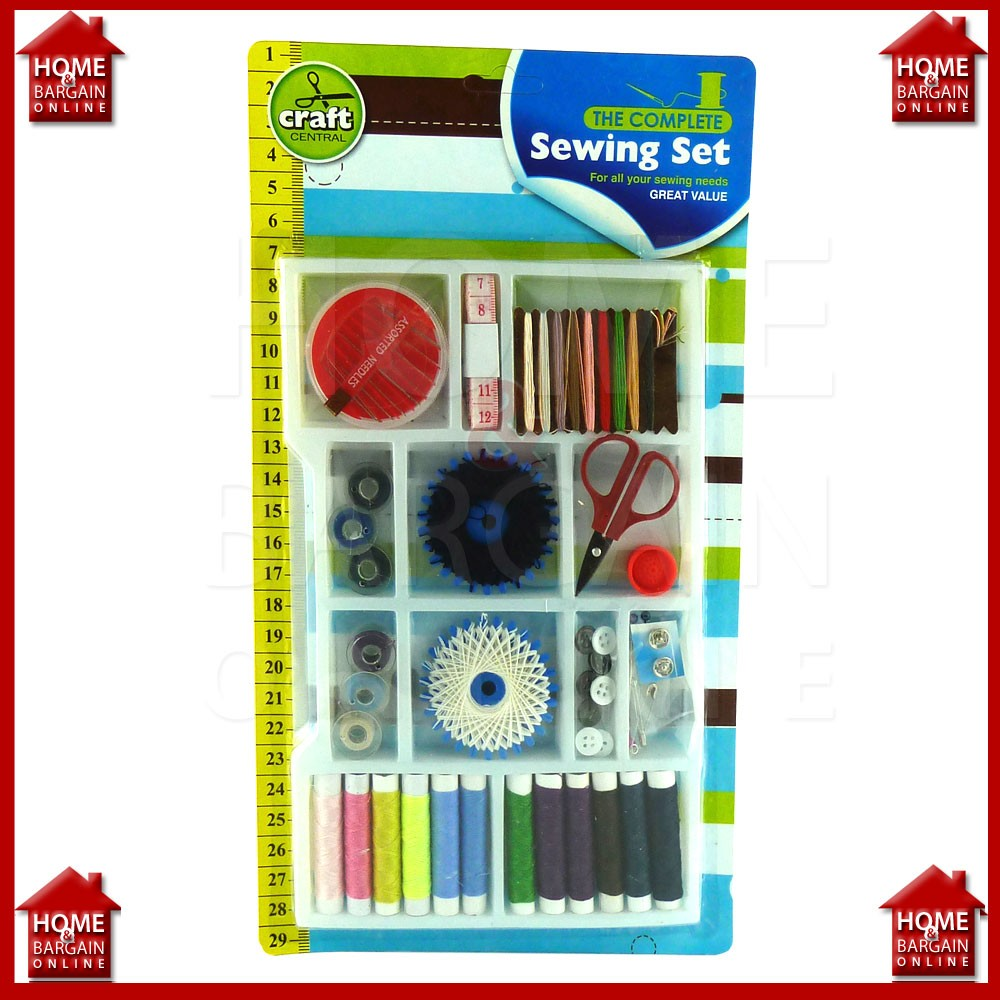All In One Large Sewing Kit Complete Thread Pins Needles