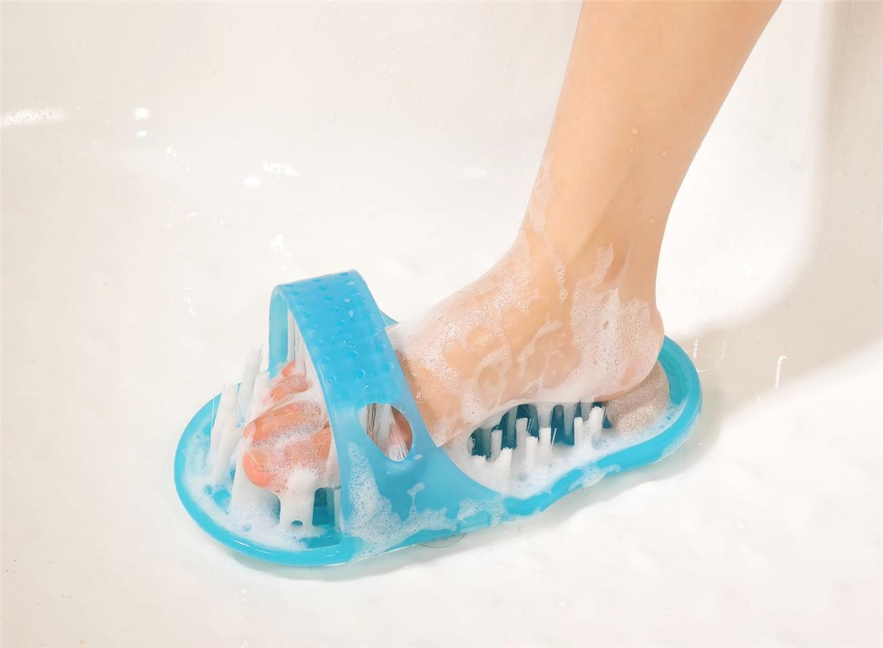 Foot Cleaner Massager Scrubber Clean Feet With Washer