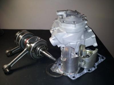 BANSHEE DRAG MOTOR 16mm STROKER CHEETAH TOPEND CRANK WORKS ENGINE on