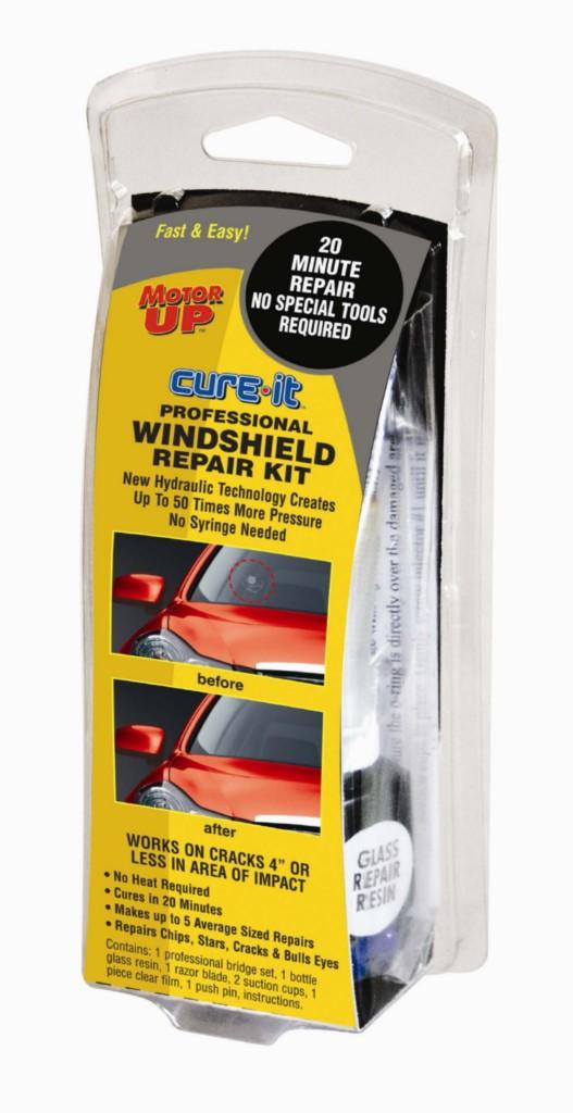 cure it professional windshield glass repair kit chip crack star bulls eye diy ebay. Black Bedroom Furniture Sets. Home Design Ideas