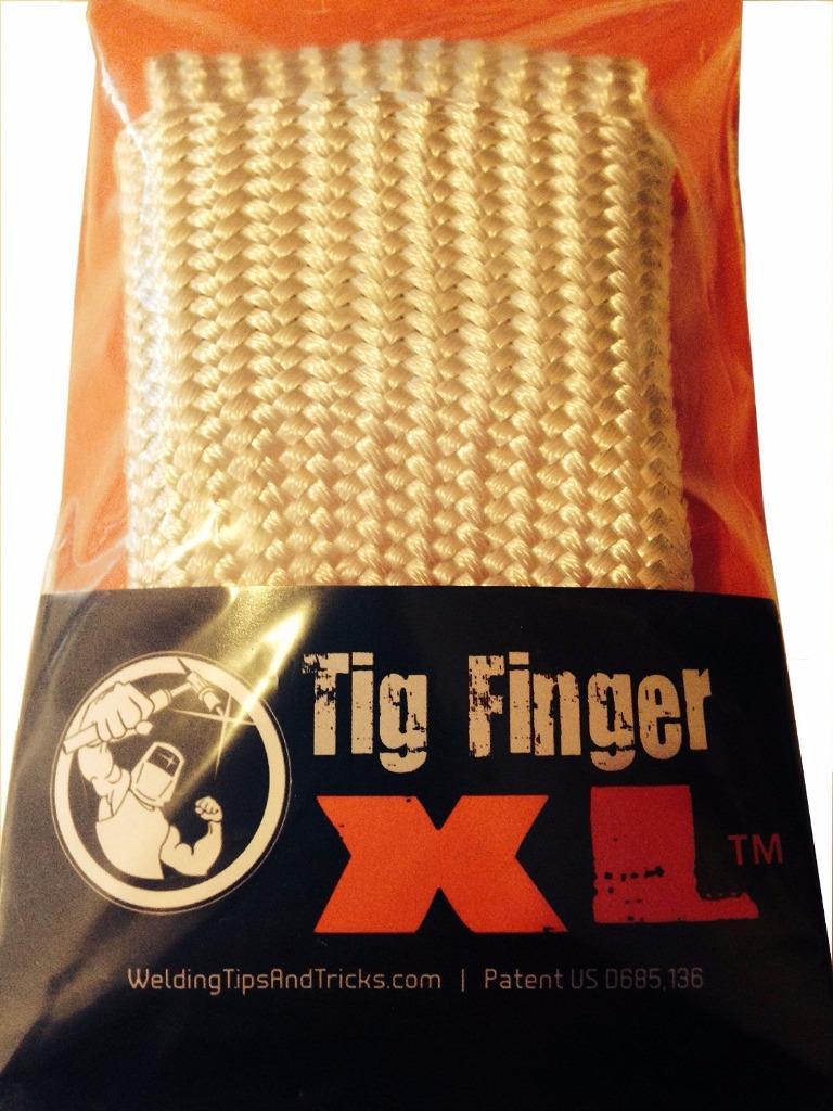 Tig Finger Xl Welding Gloves Heat Shield Guard Heat