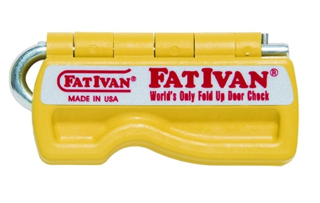 Original FatIvan Fold Up Door Chock u0026 Magnet Fat Ivan Door Stop Wedge (YELLOW)  sc 1 st  eBay & Original FatIvan Fold Up Door Chock u0026 Magnet Fat Ivan Door Stop ...